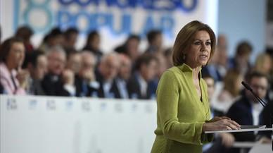 Cospedal anuncia la seva candidatura per seguir presidint el PP de Castella-la Manxa