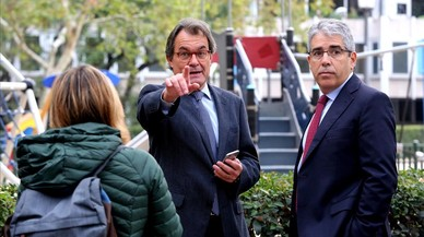 "Artur Mas defensa la ""legítima estratègia"" de Puigdemont"