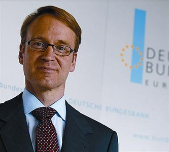 Jens Weidmann, presidente del banco central alemn.