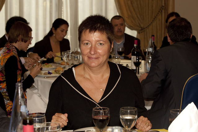 La diputada de CiU Elena Ribera, en noviembre del 2009.