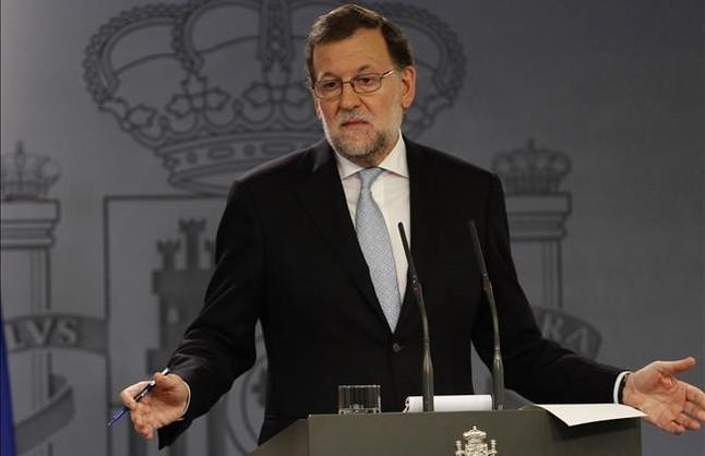 Mariano Rajoy, en la rueda de prensa posterior al Consejo de Ministros de este martes.