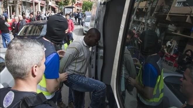 Operació contra el tràfic de drogues a Lleida
