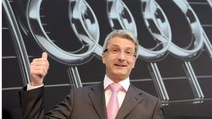 Rupert Stadler, CEO de Audi AG.
