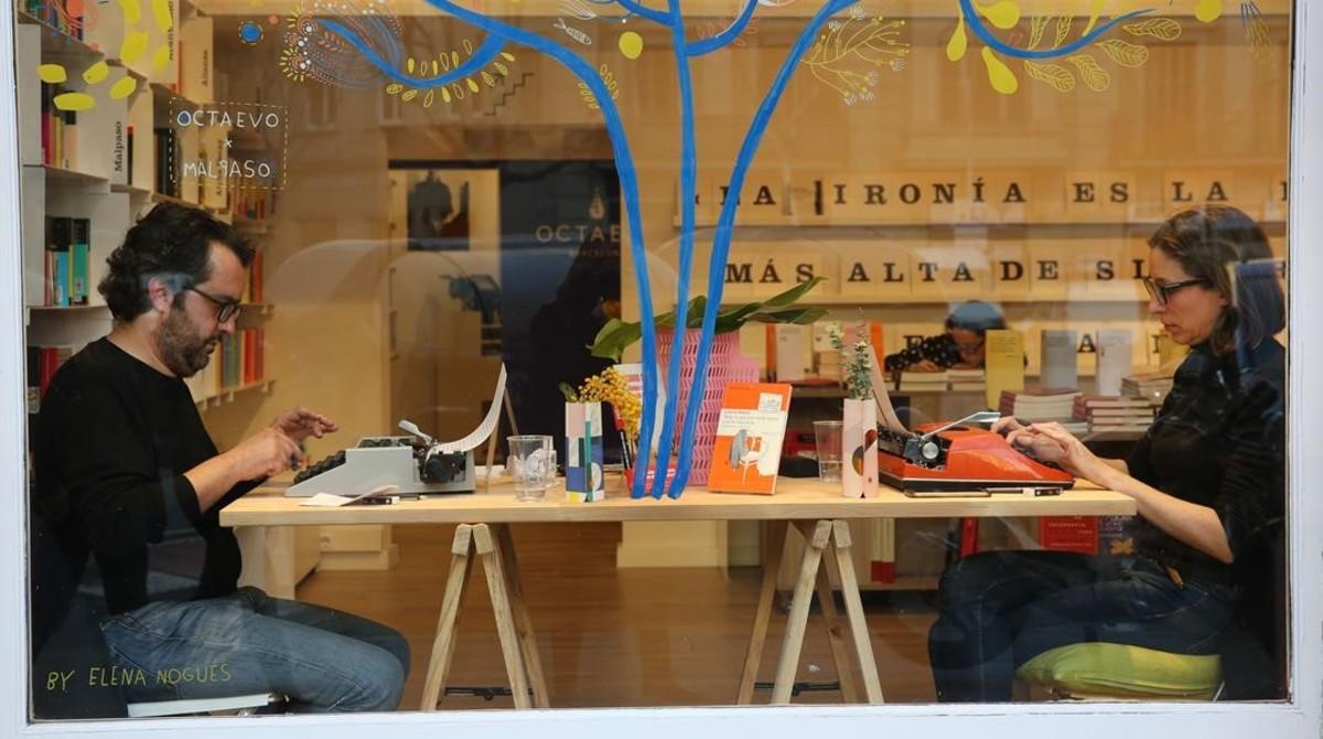 Barceloneando por olga merino el gozo de la escritura vintage - Libreria marcial pons barcelona ...