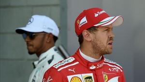 La relación entre Hamilton y Vettel ha quedado rota en Bakú