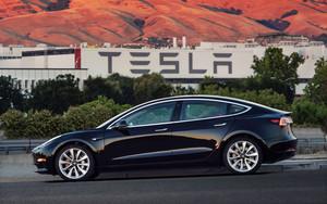El Tesla Model 3.