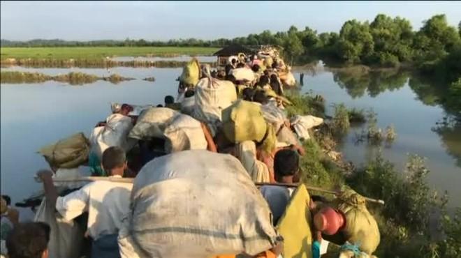 Èxode forçat dels rohingyes de Myanmar