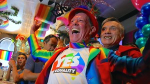 zentauroepp40950569 members of sydney s gay community react as they celebrate af171115094845