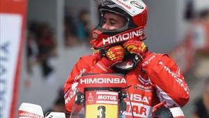 Gerard Farrés, cuarto en la general de motos