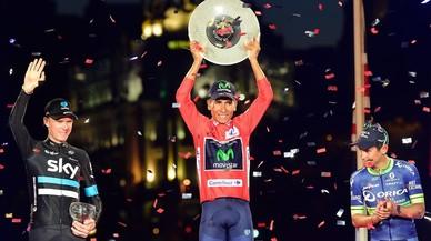 Quintana guanya la Vuelta de Froome