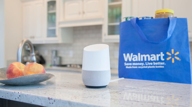 Google se asocia con Walmart para competir con Amazon