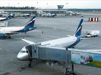 Aviones de la compa��a rusa Aeroflot, en el aeropuerto moscovita de Sheremetyevo.