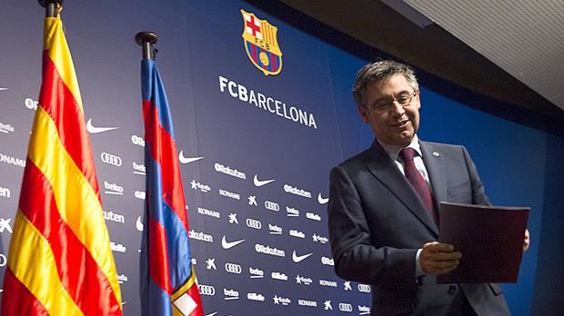 """El Barça demana """"diàleg, respecte i esport"""""""