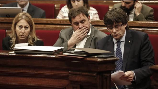 La Generalitat deixarà en mans del Parlament els canvis en l'IRPF
