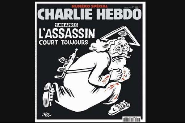 El semanario Charlie Hebdo homenajea a las víctimas de los atentados de hace un año con una polémica portada