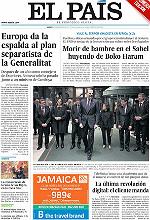 La llamada de Felipe VI a la lealtad institucional seduce a la prensa no independentista