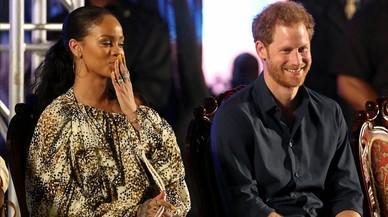 Rihanna y el príncipe Enrique.