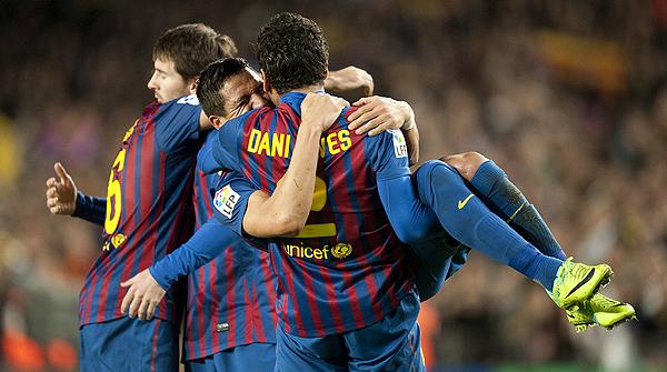 Los goles del partido de liga entre el Barcelona y el Rayo Vallecano (4-0)