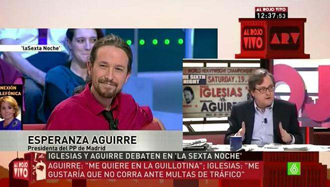 "Marhuenda: ""Vull que Pablo Iglesias deixi en pau Franco"""