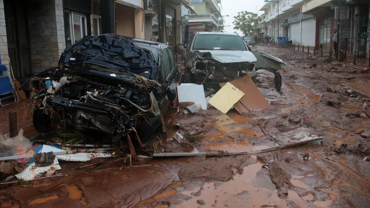 Al menos 15 muertos y 6 desaparecidos por las fuertes lluvias en Grecia