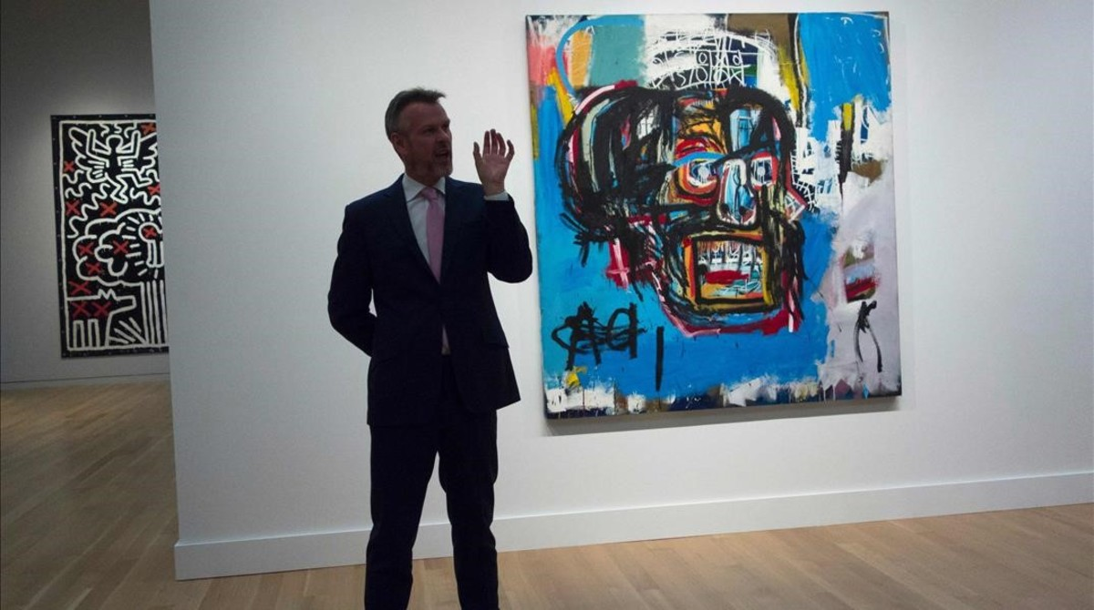Récord de una obra de Basquiat, vendida por 99 millones de euros