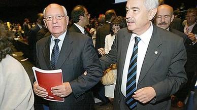 Gorbachov se dejó besar