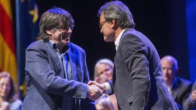 "Puigdemont i Mas proposen crear ""les Nacions Unides d'Europa"""