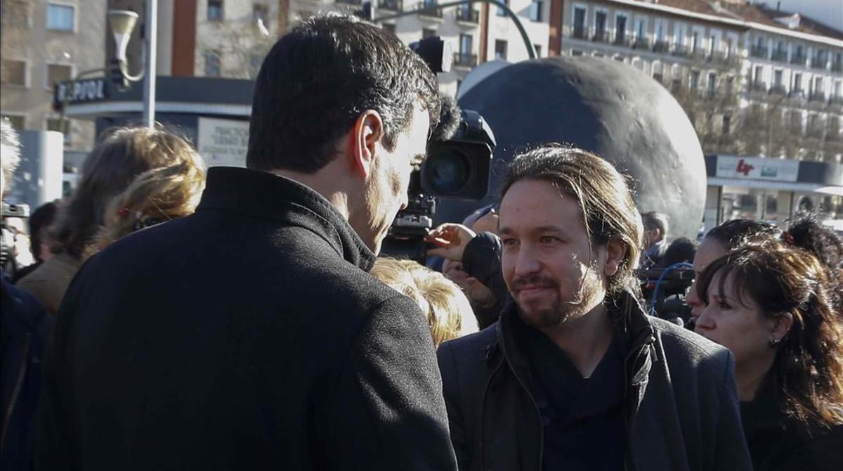 Sánchez e Iglesias buscan un acercamiento pese a las desconfianzas