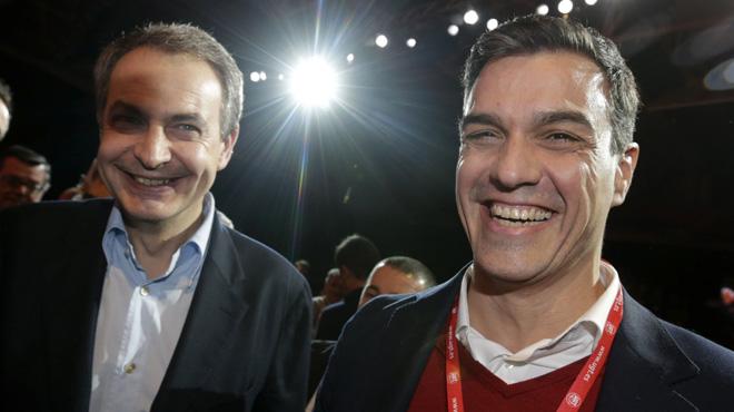 """El l�der del PSOE se muestra """"convencido de que el se�or Iglesias al final recapacitar�"""" aunque rechaza hablar """"de sillones""""."""