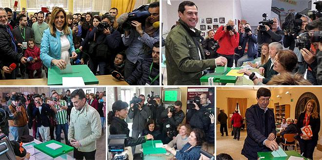 El bipartidisme se sotmet avui al primer test a Andalusia