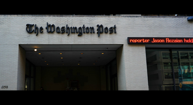 L'Iran confirma la condemna de presó d'un periodista del 'The Washington Post' per espionatge