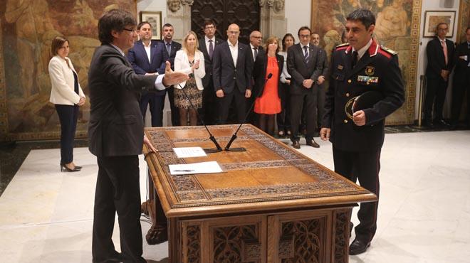 Trapero, nou major dels Mossos d'Esquadra