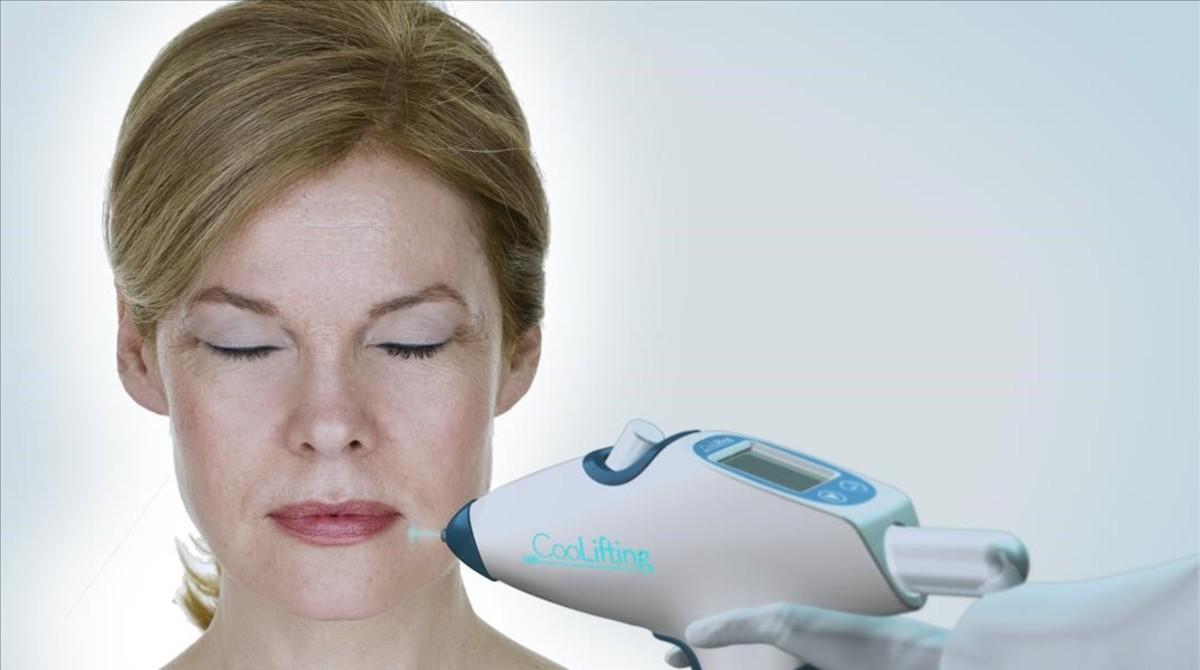 El tratamiento CooLifting alisa la piel en 5 minutos