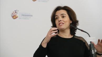 Santamaría ve positivo que Catalunya no se desentienda de la nueva financiación
