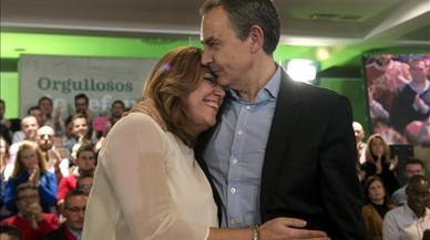 Díaz rep el suport de Zapatero en la carrera per liderar el PSOE