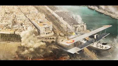 La ciutat bombardejada