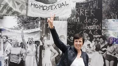 """""""Pujàvem la Rambla cridant: 'Detrás de las ventanas hay lesbianas'"""""""