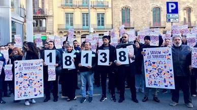 Més de 18.000 firmes recolzen canviar l'ordenança de terrasses