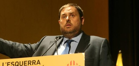 El presidente de ERC, Oriol Junqueras.