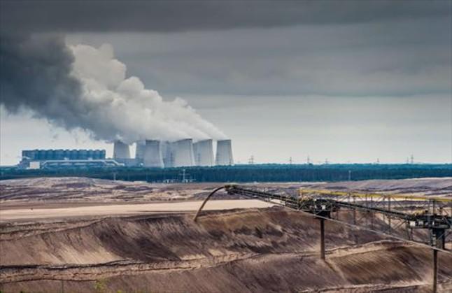 Central térmica de carbón de Jaenschwalde, en el este de Alemania.