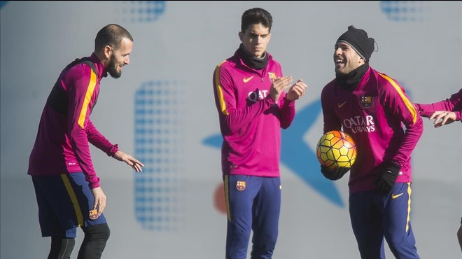 Jordi Alba, convocat davant l'Atlètic