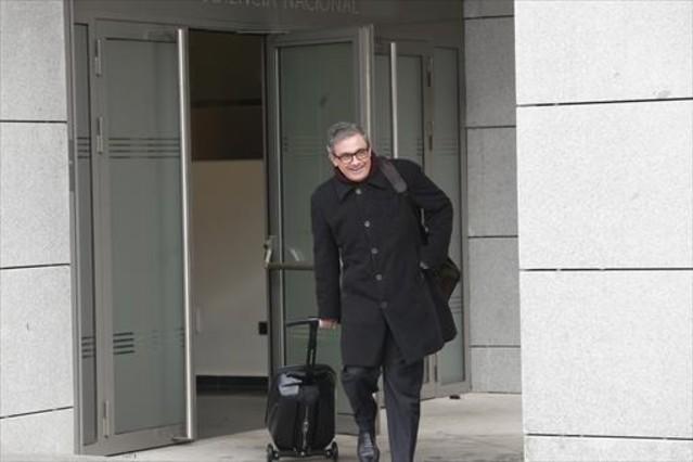 Jordi Pujol Ferrusola acude a declarar a la Audiencia Nacional.