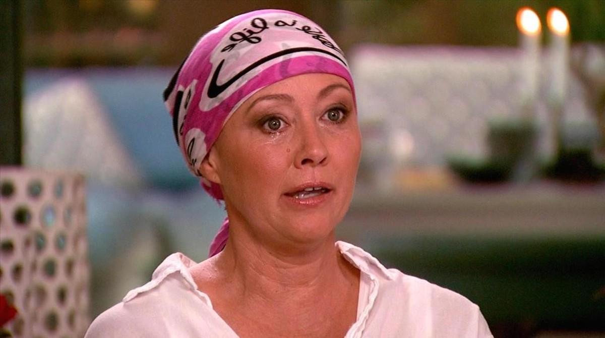 Shannen Doherty acaba el tractament de radioteràpia contra el càncer