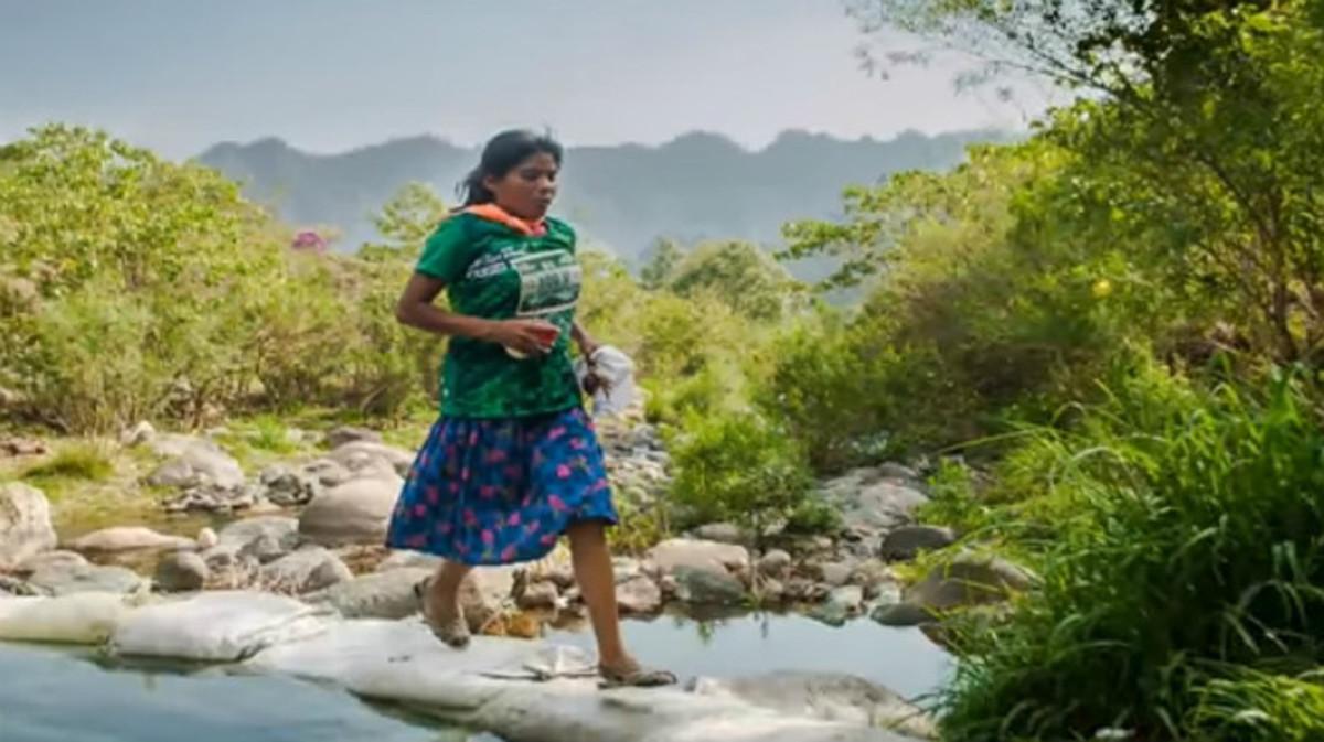 María Lorena Ramírez, en una imagen de la UltraTrail Cerro Rojo.