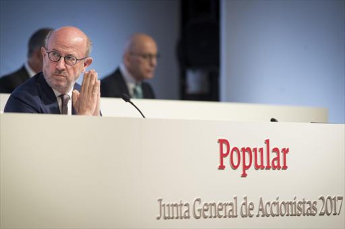 Emilio Saracho, presidente del Banco Popular hasta ayer.