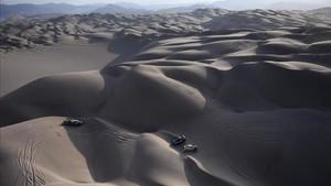 Espectacular imagen del desierto peruano