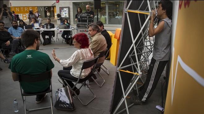 Acto de las juventudes de ERC en Barcelona. Foto de archivo.