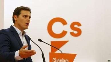 C's registra su petición para limitar mandatos y avisa de que afectará a Rajoy