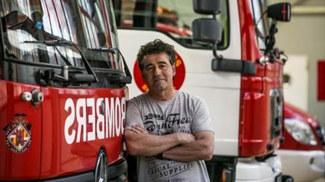 "Antoni Aparici: ""Als bombers cada vegada hi ha menys veterans"""