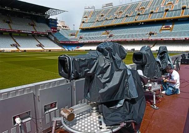 TVE-1 y TV-3 comparten hoy el Bar�a-Madrid